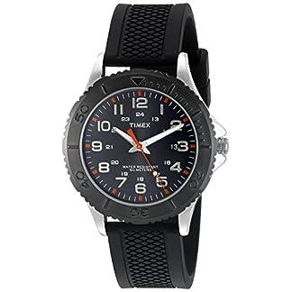 Timex Reloj Analógico para Hombre de Cuarzo con Correa en Silicona TW2P872009J