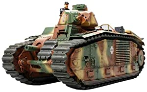 Tamiya B1 bis (German Army)  - Maqueta Para Montar Tanque B1 Bis, Ejesrcito Alemán Escala 1/35