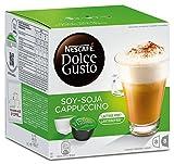 Nescafé Dolce Gusto Kaffeekapseln, Soy-Soja Cappuccino Lactosefrei, 48 Kapseln für 24 Getränke
