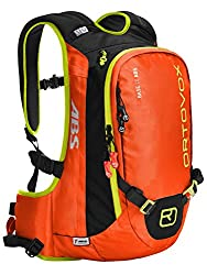 Ortovox Lawinenrucksack Base ABS, Crazy Orange, 57 x 27 x 16 cm, 20 L, 4500200002