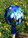 Gartenkugel (R21) Rosenkugel Gartenkugeln Rosenkugeln Glas 25 cm groß (auch mit Rosenkugelstab erhältlich)