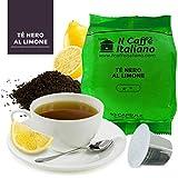 Il Caffè Italiano Té Negro al Limón Compatible con Nespresso - 50 Cápsulas