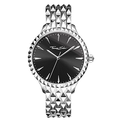 £335.46 Best Seller Thomas Sabo Unisex Analogue Mechanical Watch with Stainless Steel Strap WA0319-201-203-38