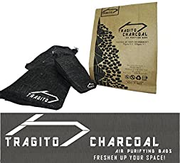 Tragito Activated Charcoal Natural Air Purifier Bag, Deodorizer, Odour Remover For Shoes Car Room Fridge (Pack Of 1) (3)
