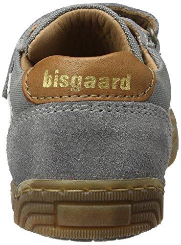 Bisgaard Klettschuhe, Sneakers basses mixte enfant Grau (112 Pewter)