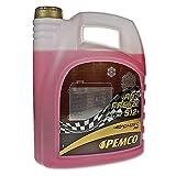 5 Liter Pemco Antifreeze 912+ Kühler Frostschutz bis -40°C rot gebrauchsfertig
