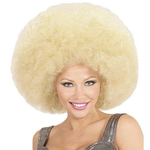 Widmann 04674 Afro Perücke, blond, One ()