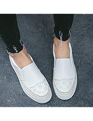 GBT Mode De Loisirs Confortable Légère Épaisse Chaussures Blanches Femmes Chaussures Plates Amour Chaussures Femmes À La Mode