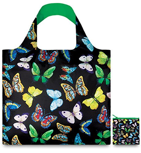WILD Birds Bag: Gewicht 55 g, Größe 50 x 42 cm, Zip-Etui 11 x 11.5 cm, handle 27 cm, water resistant, made of polyester, OEKO-TEX certified, can carry up to 20 kg Pineapples