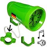alles-meine GmbH mit 3 Sound - Effekten _ Fahrradklingel / Sirene -  Polizei / Einsatzfahrzeug..