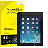 JETechà iPad Film Protection en Verre Trempé écran protecteur ultra résistant Glass Screen Protector pour Apple iPad 2/3/4
