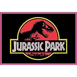 Parque Jurásico Póster con Marco (Plástico) - Classic Logo (91 x 61cm)