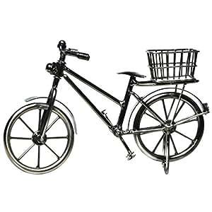 deko fahrrad mit korb geldgeschenk garten. Black Bedroom Furniture Sets. Home Design Ideas