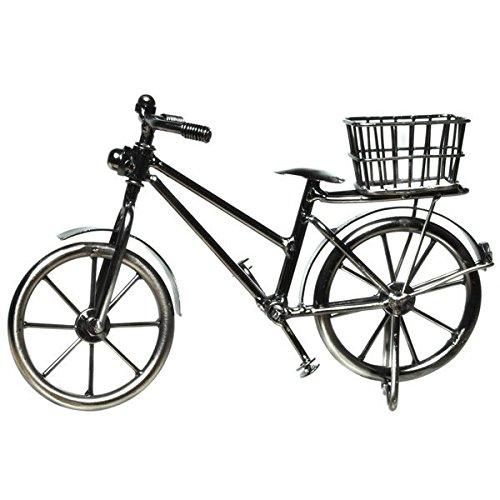Flaschenhalter Fahrrad mit Korb Deko Geldgeschenk
