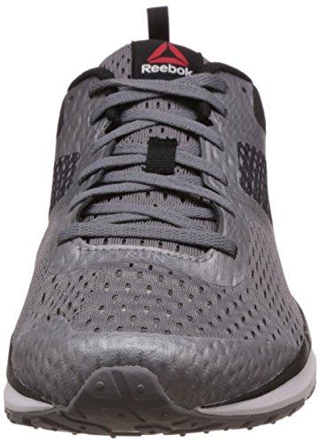 Reebok One Distance, Scarpe da Corsa Uomo Nero (Shark / Black / White / Tin Grey) (bianco, grigio)