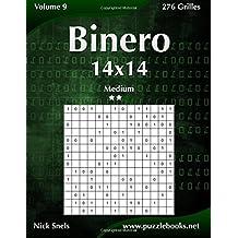 Binero 14x14 - Medium - Volume 9 - 276 Grilles