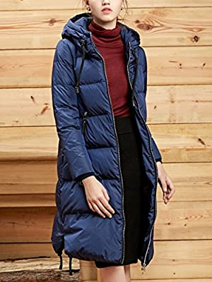 Bosideng Women Hooded Long Down Coat - Cosy and Protective