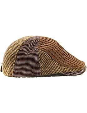 TININNA Moda Vintage Estilo Británico Casquillo,Unisex Otoño Invierno Novedad Casual Lana Gorra Outdoor Gorra...