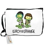 getshirts - Gronkh Official Merchandising - Schultertasche - Lurch is Strange Max & Chloe - white uni