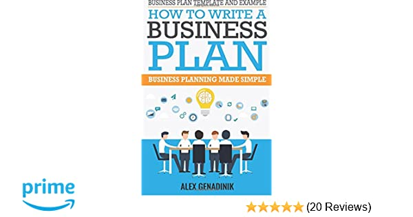 Business Plan Template And Example How To Write A Business Plan