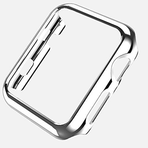 XIHAMA PC cubierta para Apple Watch caso serie 2serie 3iWatch 42mm 38mm, Case Cover Protector Carcasa Bumper protectora para iphone reloj I reloj