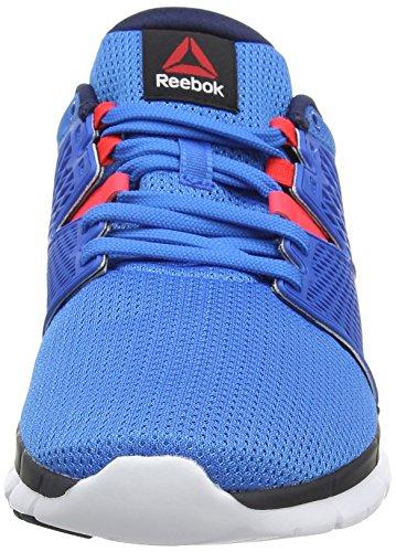 Reebok ZQuick Dash, Running Entrainement Homme Bleu (cycle Blue/faux Indigo/neon Cherry/white)