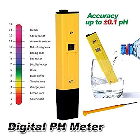 Igemy Digital PH METRE testeur de poche portable l'eau de la piscine Aquarium hydroponique Vin NEUF