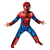 Marvel - I-620681M - Déguisement luxe - Ultimate Spider-Man - Taille M , 5-6 ans