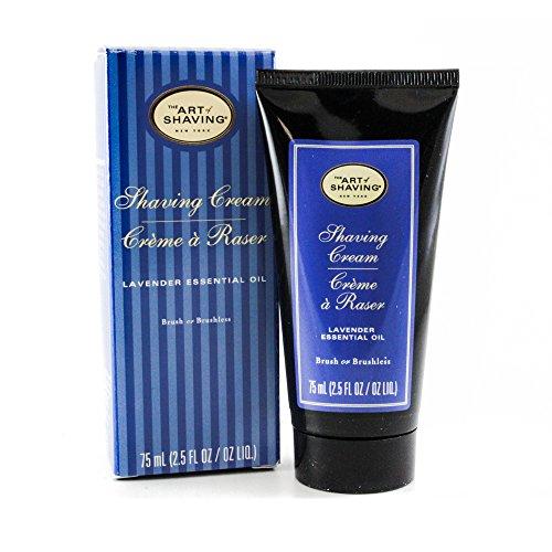The Art Of Shaving Shaving Cream Tube - Lavender, Rasiercreme Lavendel 75ml -