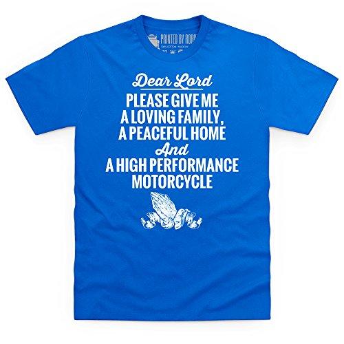 Dear Lord T-Shirt, Herren Royalblau