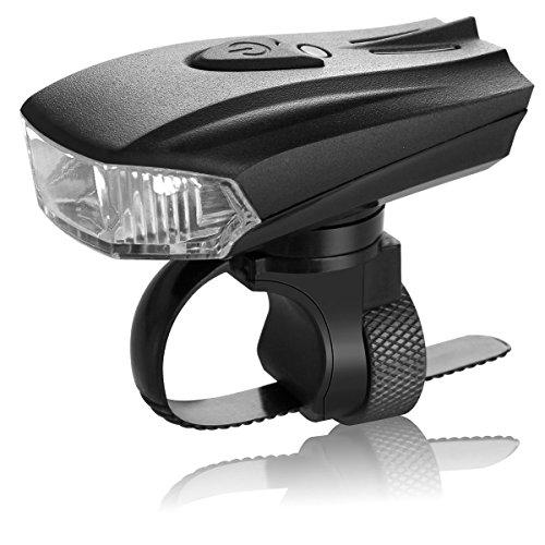 LED Fahrradbeleuchtung Wasserdicht Frontlicht Fahrradlampen / Fahrradlicht StVZO, 5 Licht-Modi USB Wiederaufladbare Frontlicht