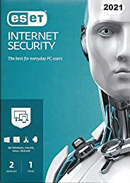 ESET INTERNET SECURITY 2021 - 2 USERS FOR 1 YEAR AUTHENTIC MIDDLE EAST VERSION
