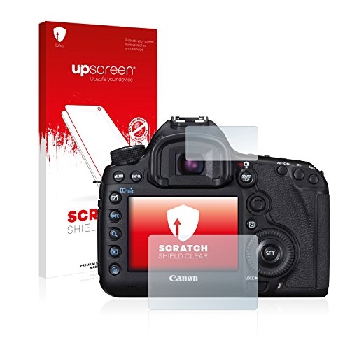 5d Canon Cover (upscreen Scratch Shield Displayschutzfolie Canon EOS 5D Mark III Schutzfolie – Kristallklar, Kratzschutz, Anti-Fingerprint, Made in Germany)