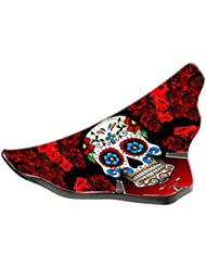 Image of Biker Wings Cover Unisex Skull Saddle, Multi-Colour, One Size - Comparsion Tool