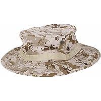 TOOGOO Sombrero de Camuflaje Sombrero de Proteccion Solar Redondeado de  Pescador de afueras Gorra tactica para 10b96e49566a