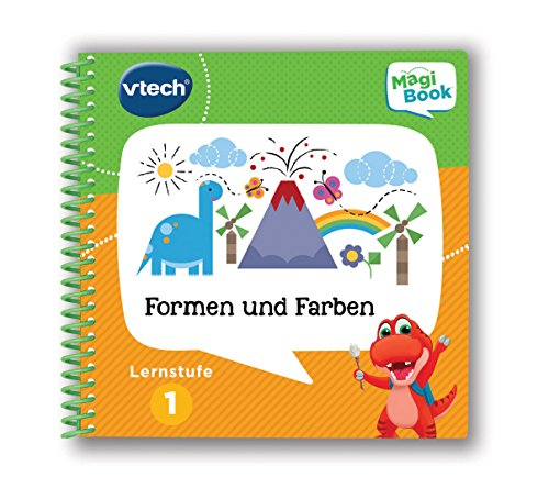 Vtech 80-480504 - Magibook - Lernstufe 1 - Formen und Farben