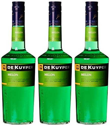 De Kuyper Melonenlikör (3 x 0.7 - Sec Sirup Triple