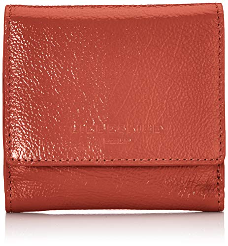 b29b136d0d Liebeskind BerlinGlossy Slg Erica Wallet SmallMujerCarterasRojo (Hot  Red)2x9x10 centimeters (B x H
