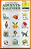 Adventskalender Gesch.&Musik 2 [Musikkassette]