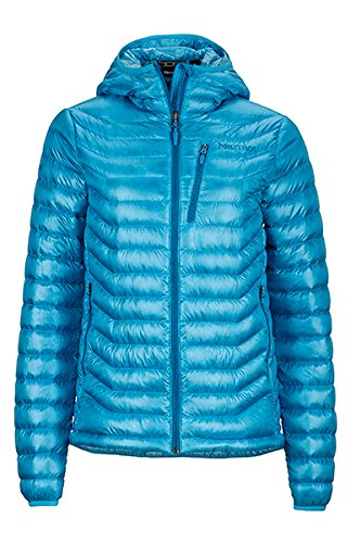 marmot-womens-quasar-hooded-jacket-blue-sea-medium