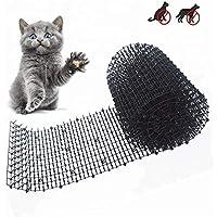 AODIAN - Esterilla para gatos con pinchos, antigatos y plagas de plástico para excavar red de plástico para mantener a gato o perro alejado (6.5 pies)