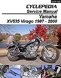 1987-2000 Yamaha XV535 Virago Service Manual (English Edition)