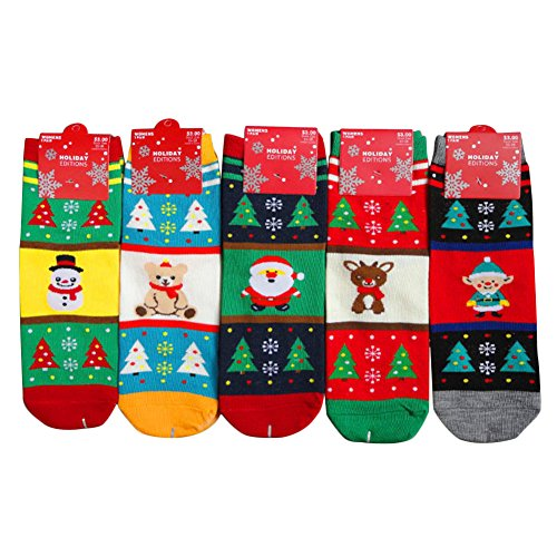 Socken Weiche Baumwolle Winter Weihnachten Mignon Santa Claus Hirsch Schneemann bedruckt Sock Holiday Party Zubehör (Halloween-kostüm Themen Für Gruppen)