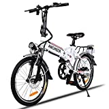 ANCHEER Elektrofahrrad, Faltbares E-Bike für Erwachsene, Faltrad, 20/26 Zoll...
