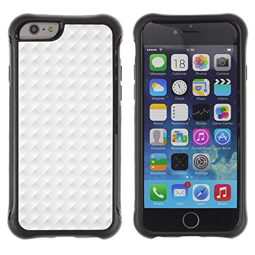 Graphic4You BLUE STRIPES Muster Shockproof Anti-Rutsch Weichen Hülle Case Tasche Schutzhülle für Apple iPhone 6 Plus / 6S Plus Design #17