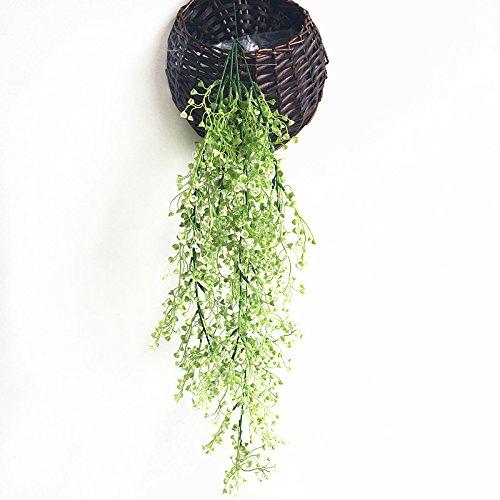 Sodial admiralty willow 115cm simulazione pianta decorativa da parete cesto orchidea fiore plastica fiore finto bianca