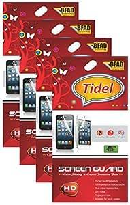 Tidel Ulta Clear HD Screen Guard Protector for Micromax Bolt Q338 (Pack Of 4)