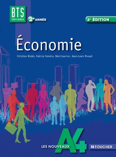 Les Nouveaux A4 Economie 2e anne BTS