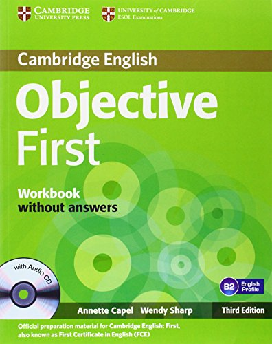 Objective first certificate. Workbook. Without answers. Per le Scuole superiori. Con CD-ROM