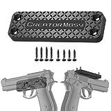 Creatormbsy Cintura Holster Magnetico Fondina Pistola Gomma Rivestita 42 Lbs